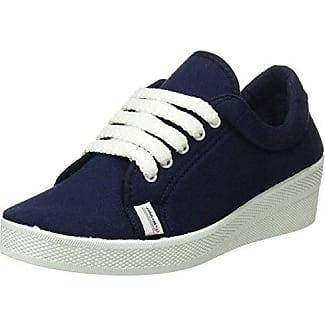 Beppi Canvas Shoe, Zapatillas de Deporte para Mujer, Azul (Blue), 39 EU