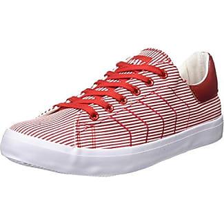 Beppi Canvas, Zapatillas de Deporte para Mujer, Rojo (Red), 39 EU