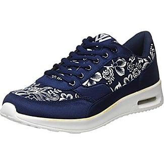 Beppi Canvas Shoe, Zapatillas de Deporte para Mujer, Azul (Turq. Blue), 38 EU