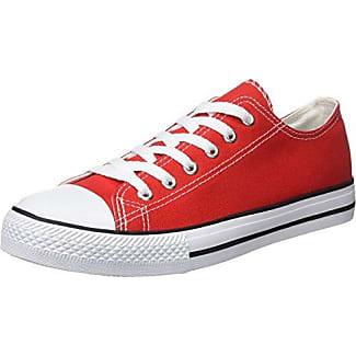 Beppi Canvas, Zapatillas de Deporte para Mujer, Rojo (Red), 40 EU