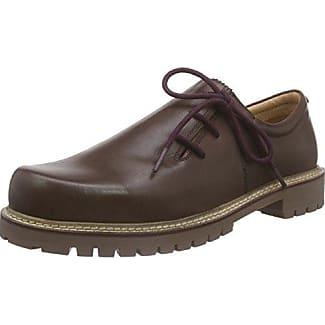 Zillertal - Zapato Brogue de Cuero Hombre, Color Negro, Talla 44 Bergheimer Trachtenschuhe