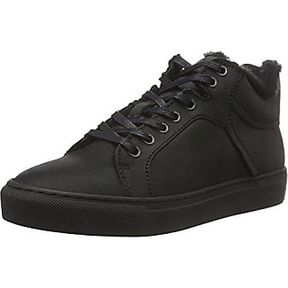 Bianco Wool Sneaker Boot JJA16, Botines para Mujer, Negro-Schwarz (10/Black), 38 EU