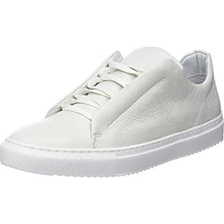 Bianco Hidden Leather Lace Up, Zapatillas para Mujer, Schwarz (Black), 40 EU