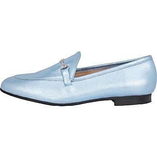 Punched Loafer Jfm17, Mocassins Femme - Blanc (White 80), 35 EUBianco