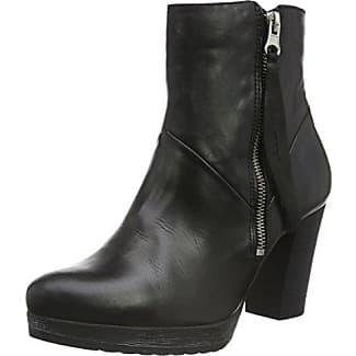 Womens Mit Details Chelsea Boots Bianco