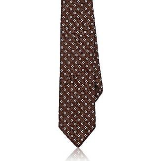 Mens Floral-Dot Silk Necktie Bigi Cravatte Milano
