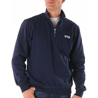 Sweat molleton col camionneur - bordeauxBlancheporte