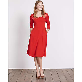 Kleider langarm rot