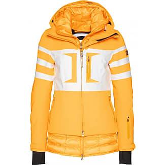 Skijacke damen neon orange