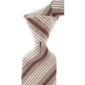 Ties On Sale, Blue Melange, Silk, 2017, one size Borrelli Napoli