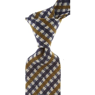 Ties On Sale, Royal Blue, linen, 2017, one size Borrelli Napoli