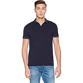 Boss Orange Terris 1, Camiseta Hombre, Azul (Dark Blue), Medium HUGO BOSS