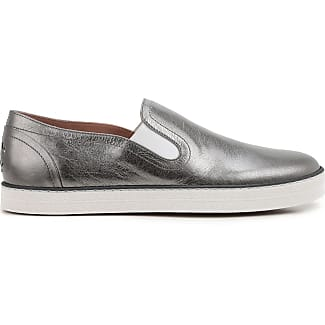 Loafers for Women On Sale, Silver, Leather, 2017, 2.5 3.5 4 4.5 5.5 6 7.5 Hogan