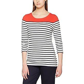 Brax Colletta, T-Shirt Manches Longues Femme, Rot (Fiesta 40), 46
