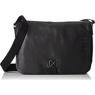 black, Shou. Bag, Sacs portés épaule mixte adulte, Grau (Anthra.), 8x24x34 cm (B x H T)