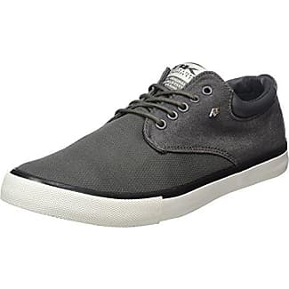 British Knights Demon - Zapatillas Hombre, Color Gris - Grau (DK Grey-Black 09), Talla 44