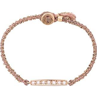 Brooke Gregson 14kt gold 11 Diamond Bar Bracelet - Metallic