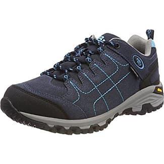 Expedition Mid, Zapatos de Low Rise Senderismo Unisex Adulto, Azul (Marine/Blau/Lemon Marine/Blau/Lemon), 39 EU Brütting