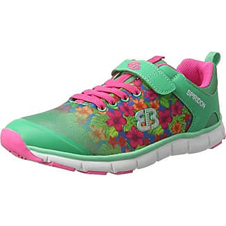 Bruetting - Creation Vs, Zapatillas Mujer, Verde (Mint Gruen/Pink/Blau), 37 EU