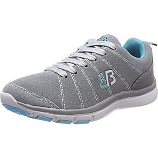 Bruetting Dallas, Zapatillas Unisex Adulto, Gris (Grau/Tuerkis), 38 EU