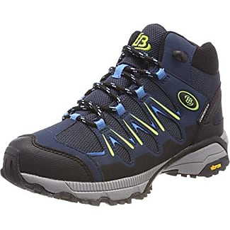 Bruetting Expedition Mid, Zapatos de Low Rise Senderismo Unisex Adulto, Azul (Marine/Blau/Lemon Marine/Blau/Lemon), 45 EU