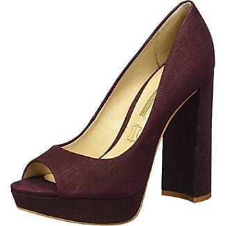 Truffle Peep-Toe Donna, Rosso (Red), 39