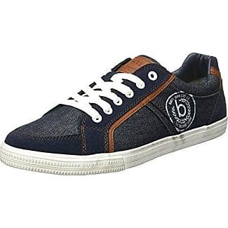 K48016v6, Sneakers Basses Homme, Bleu (Navy), 46 EUBugatti