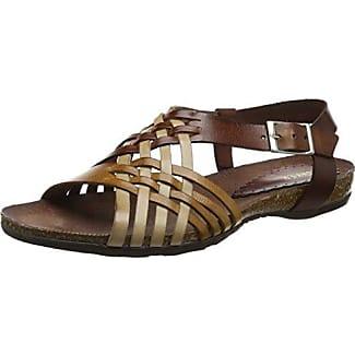 Buffalo 15BU0230 - Sandalias de vestir para mujer, color Negro, talla 40