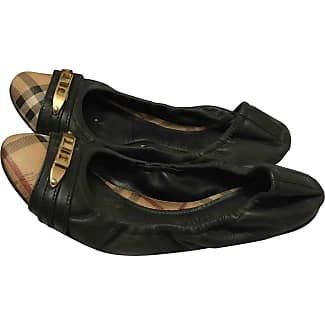 Pre-owned - Patent leather ballet flats Burberry
