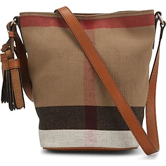 Burberry Susanna Canvas Check Bag