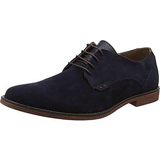 Giudecca JY1507-1 - Zapatillas de casa de Cuero Mujer, Color Azul, Talla 40