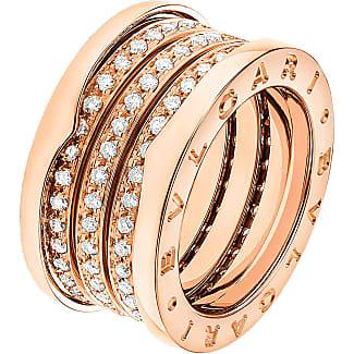Bvlgari Ring for Women, Gold Yellow, 18 Kt Yellow Gold, 2017, USA 6-EU 52-GB M-Diam: 16.55mm-Circ: 51.5mm USA 6 3/4-EU 54-GB N 1/2-Diam: 17.13mm-Circ: 53.4mm USA 10-EU 62-GB T-1/2-Diam: 19.80mm-Circ: 62.1mm