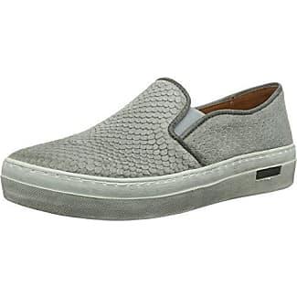 cashott A12060, Sneaker Donna, Grigio (Grau (light grey 313), 42