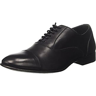 Calpierre 2055-G, Zapatos de Cordones Oxford para Hombre, Negro (Nero Nero), 42.5 EU