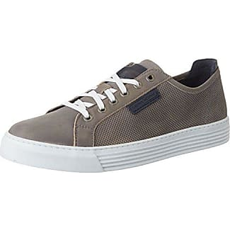 Camel Active Bowl 17, Zapatillas para Hombre, Blanco (White/Midnight), 44.5 EU
