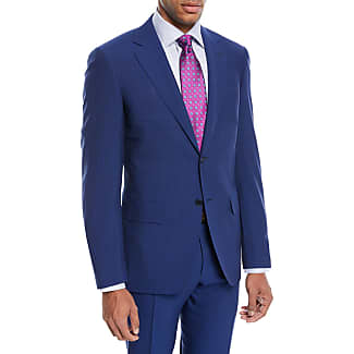 Storm-blue Slim-fit Water-resistant Super 130s Wool Suit Jacket - Storm blueCanali