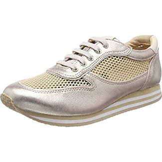 23654, Zapatillas para Mujer, Amarillo (Saffron Met.Mu), 39 EU Caprice
