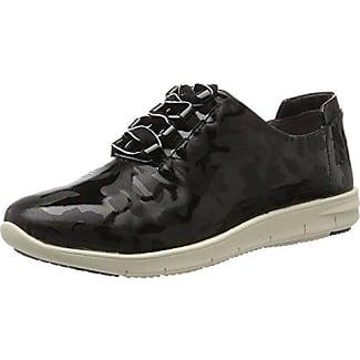 23503, Zapatillas para Mujer, Negro (Black Suede), 38.5 EU Caprice