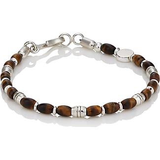 Caputo & Co. Mens Labradorite Beaded Bracelet