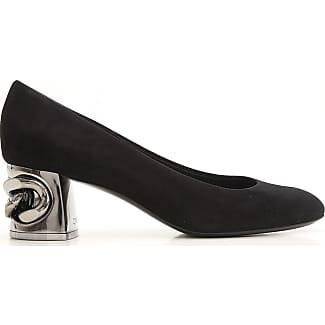 Zapatos de Mujer Baratos en Rebajas, Negro, Piel, 2017, 36 37 37.5 38 39 Casadei