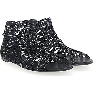 Casadei Sandals 1LB00 nappa leather stretch Strass