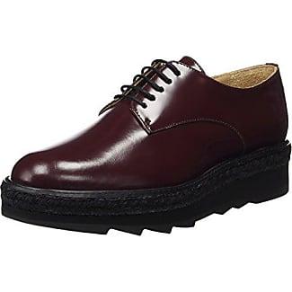 Damen Bequem-Schuh - Mocasines para Mujer, Color Schwarz 222, Talla 37 Fischer