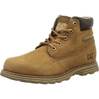 Kickers Ferock Lace2 Lthr Ym - Zapatos de Cordones de Cuero para Niño, Color Negro, Talla 39.00