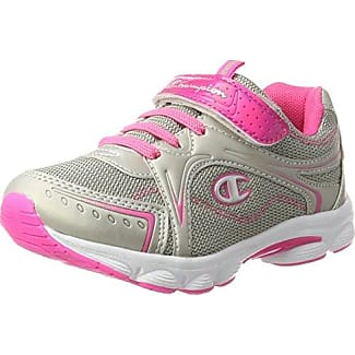Champion Low Cut Shoe Lacie 2 G PS, Zapatillas para Bebés, Multicolor (Silm/Pink), 28 EU