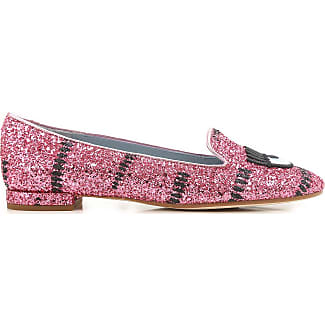 Sandals for Women, fuxia, Fur, 2017, 3.5 4.5 5.5 7.5 Chiara Ferragni