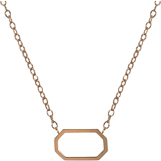 Chibcha Retro Necklace in 18K Rose Gold