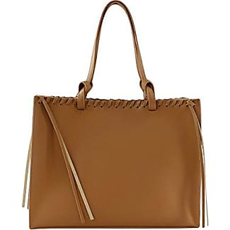 CTM Womans Handbag in genuine leather Made in Italy Cork coated - 42x30x17 Cm Chicca Tutto Moda