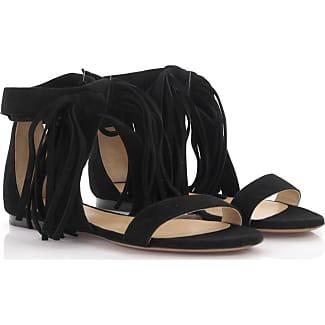 Chloé Sandals suede frays