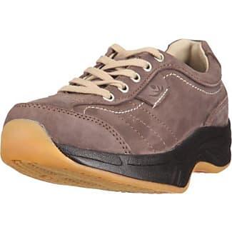 Chung Shi AuBioRiG Comfort Step Bogart 9103315 - Zapatillas de deporte de cuero para mujer, color negro, talla 40.5