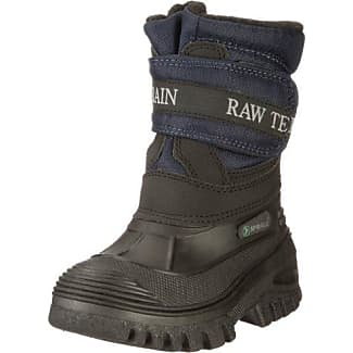 Chuva Gefütterter Winterstiefel 9974 CH9974SCHW - Botas de caucho unisex, color negro, talla 45